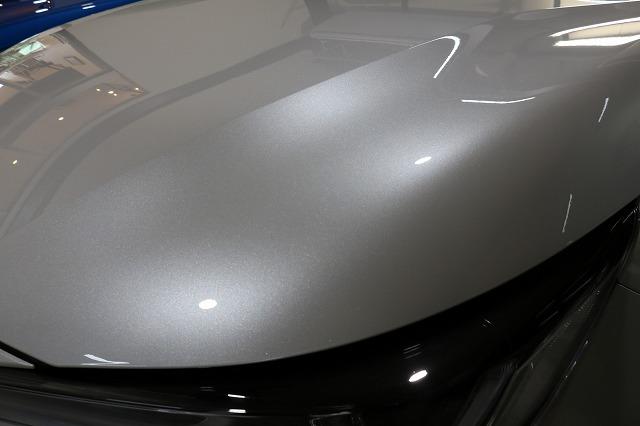 トヨタカローラスポーツカーコーティング施工後 フロントアップ画像
