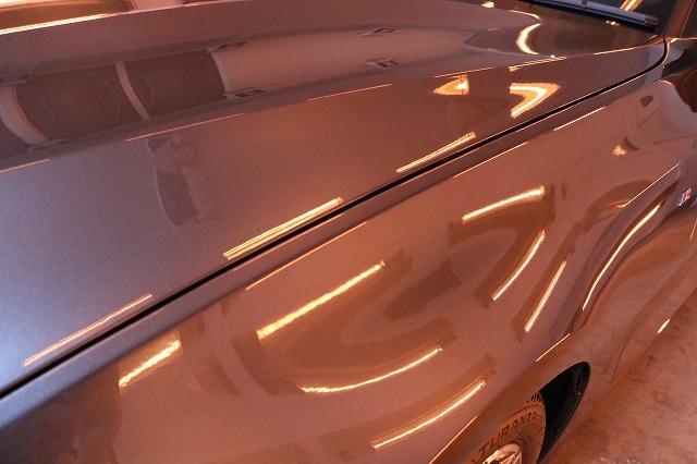 BMW3 カーコーティング セラミックプロ9Hコーティング遠赤外線サイド画像