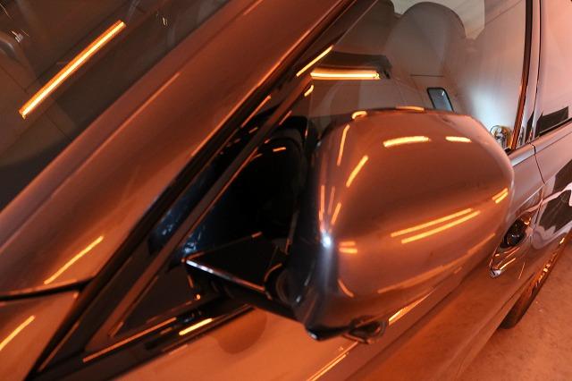 BMW3 カーコーティング セラミックプロ9Hコーティング遠赤外線サイドミラー画像