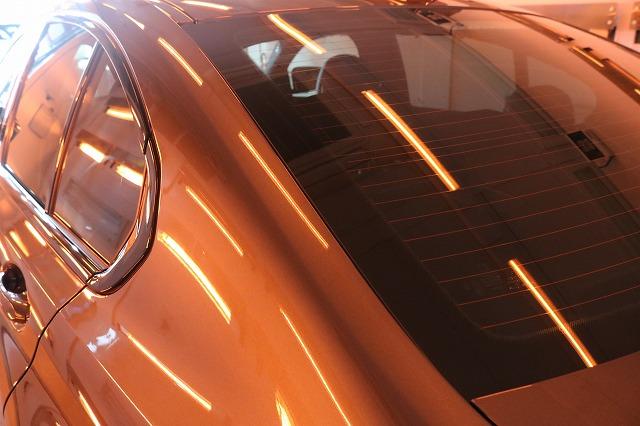 BMW3 カーコーティング セラミックプロ9Hコーティング遠赤外線ウィンドウ画像