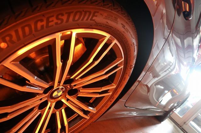 BMW3 カーコーティング セラミックプロ9Hコーティング 遠赤外線ホイール画像