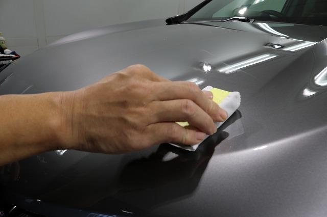 ホンダCR-Vカーコーティング コーティング塗布画像