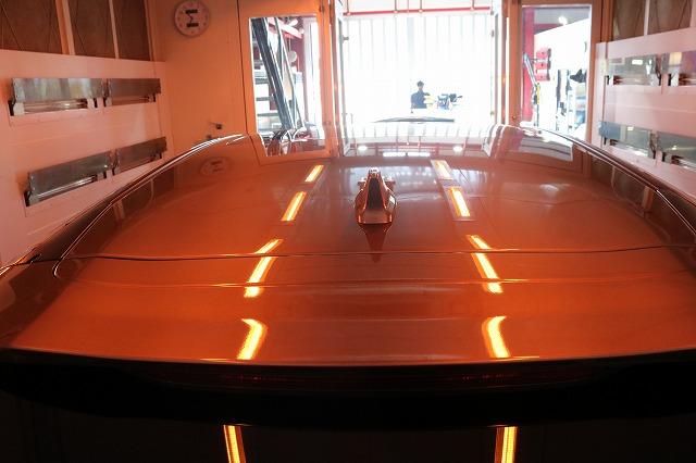 ホンダCR-Vカーコーティング 遠赤外線ブースルーフ画像