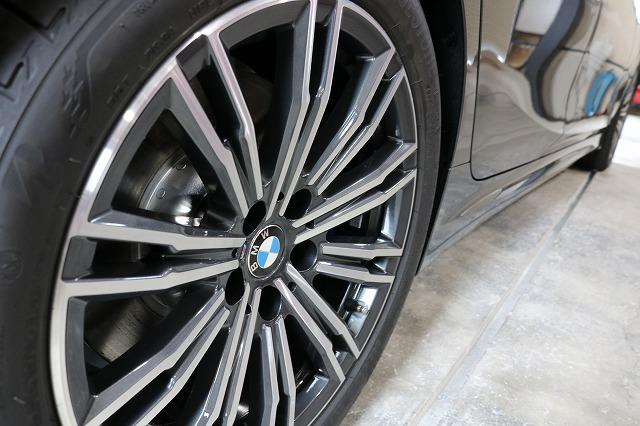 BMW3 カーコーティング バリアタフホイールコート施工後 ホイール画像