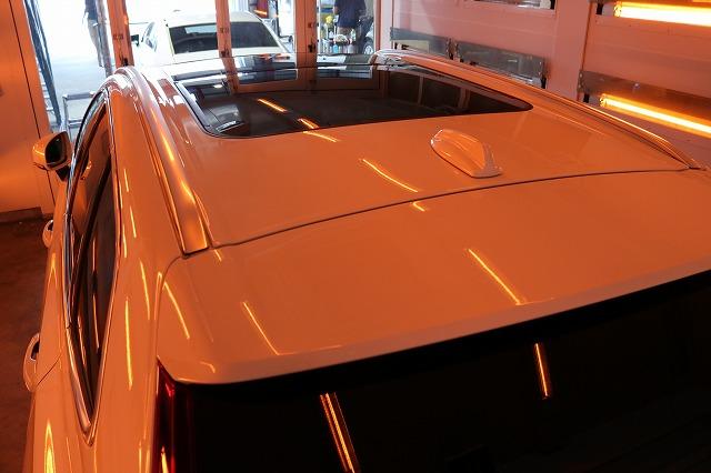 ボルボXC60にセラミックコーティング施工 遠赤外線画像
