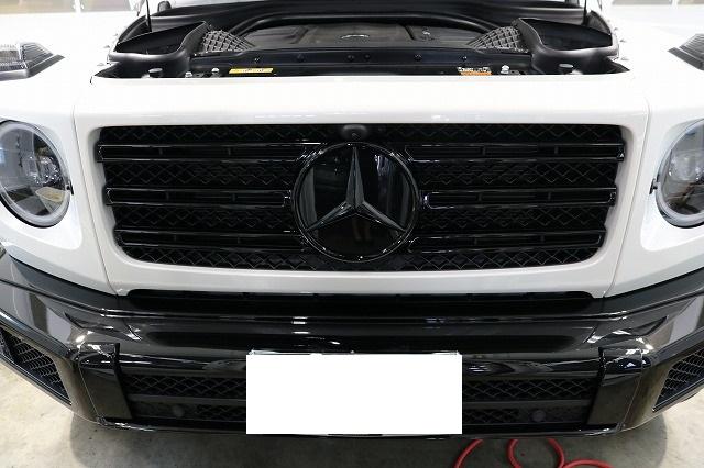 メルセデスベンツG350dファインラボヒールライト コーティング塗布後画像
