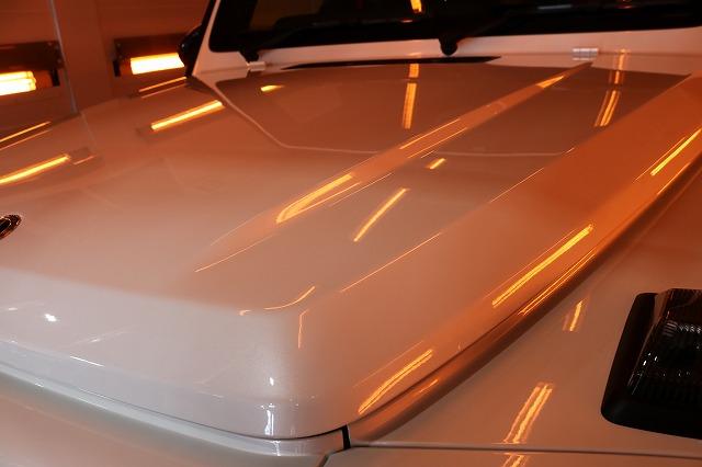 メルセデスベンツG350dファインラボヒールライト 遠赤外線ブースフロント画像