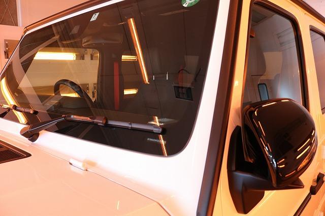 メルセデスベンツG350dウィンドウコート 遠赤外線ブース画像