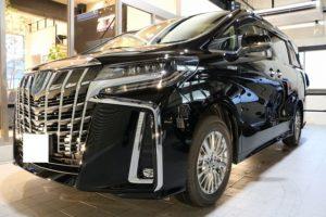 トヨタアルファード ファインラボヒールライトカーコーティング画像