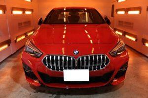 BMW218d 新世代コーティング ファインラボ