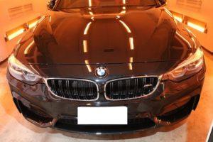 千葉県セラミックコーティング BMW M4