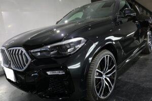 BMWX6 セラミックプロ9Hカーコーティング 画像