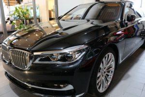 BMW7 クオーツガラスコーティング画像