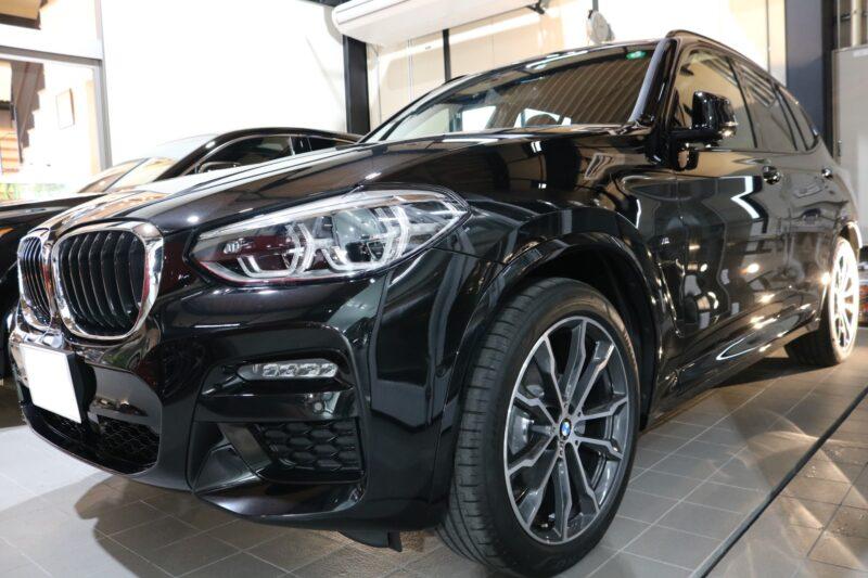 BMWX3 ファインラボコーティング カービューティーアイアイシー