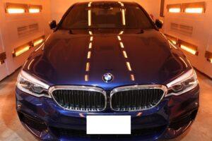 BMW5 セラミックプロ9Hコーティング画像