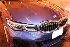 BMWアルピナ ファインラボヒールプラス施工画像