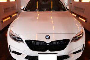 BMW M2 ファインラボヒールプラス施工画像