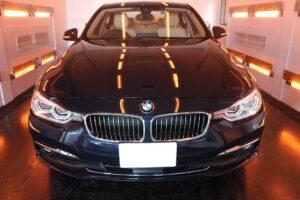 BMW320i セラミックプロ9Hコーティング施工画像