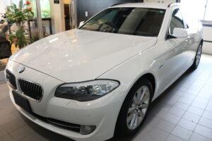 BMW523iツーリング セラミックプロ9Hコーティング施工画像
