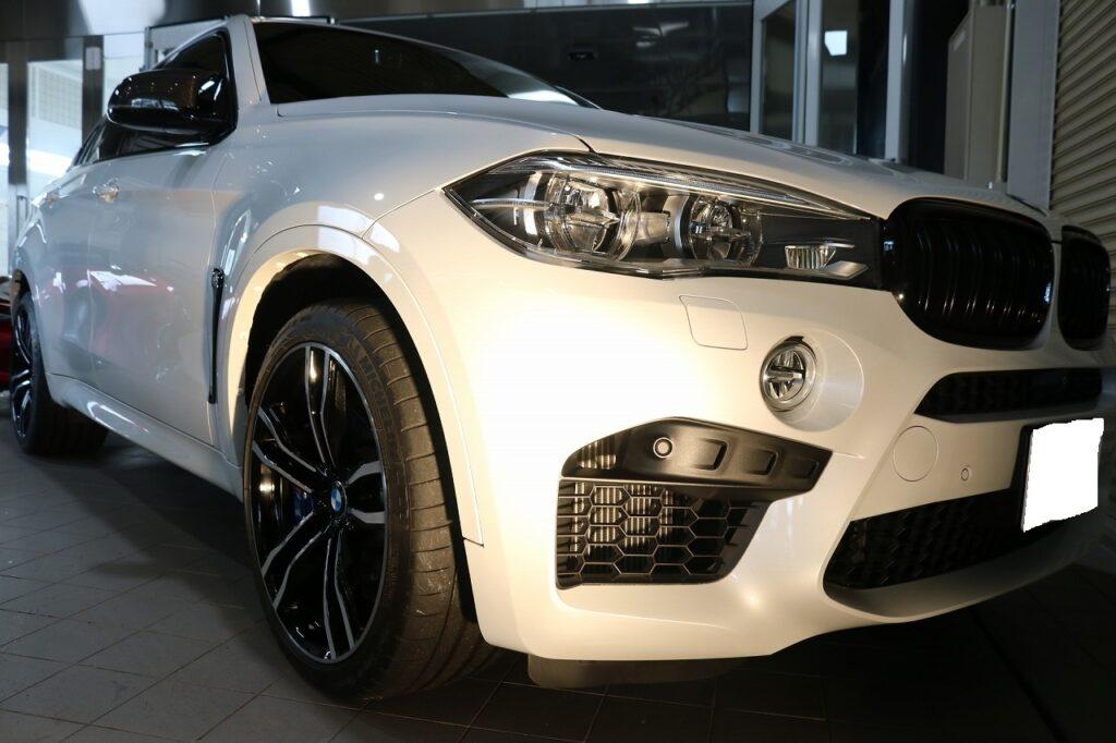 BMWX6Mセラミックプロ9Hコーティング画像