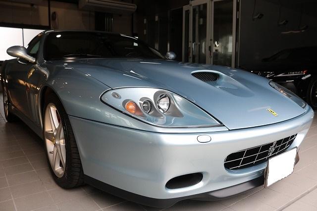 フェラーリ575Mマラネロ ファインラボヒールプラス コーティング画像