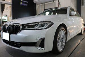 BMW523d ファインラボセラミック コーティング画像