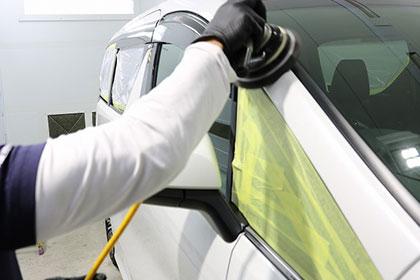 Step3 洗車作業&バインダー作業