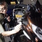 千葉県よりご来店のヤマハ、FJRにバイクコーティング|CeramicPro9H×CR-1コーティングを施工させていただきました。