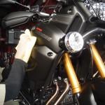 ヤマハSUPER TEUEREにバイクコーティングを施工させて頂きました。