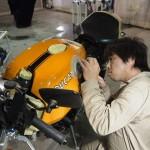 千葉県よりご来店のドゥカティにバイクコーティングCeramicPro9H×CR-1コーティングを施工させて頂きました。