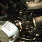 BMW R nineTが入庫しました。CR1×セラミックプロの当店人気のバイクコーティングをさせていただきます。