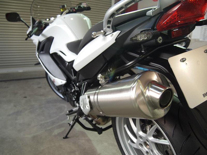 東京都よりバイクコーティングでBMWが入庫しておりました。