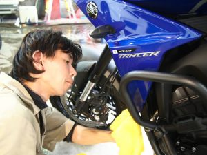 千葉県でバイクコーティング