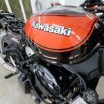 千葉県よりご来店のKawasaki Z900にバイクコーティングを施工させていただきました。
