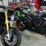 Kawasakiニンジャ、スズキGSX、BMWにバイクコーティングを3台施工させていただきました。