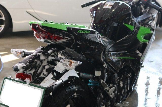 静岡 バイクコーティング ニンジャ